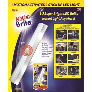 Brite Motion Sensor Activated Led Light Strip