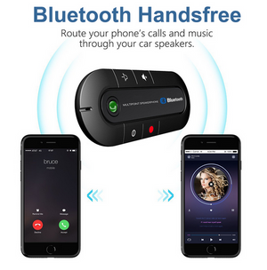 Car Hands-free Speakerphone with Bluetooth