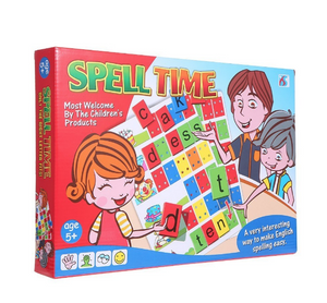 Spell-Time-Table-Game