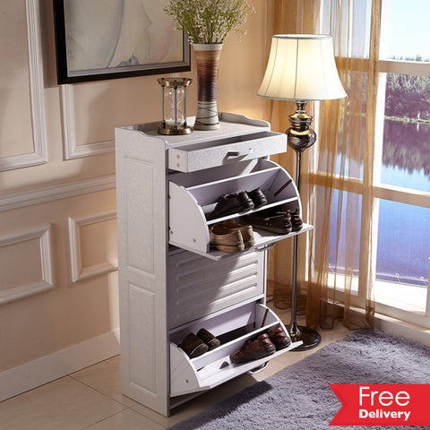 Simple, Stylish And Elegant 27 Pairs Shoe Cabinet For R1399.99 Including Delivery