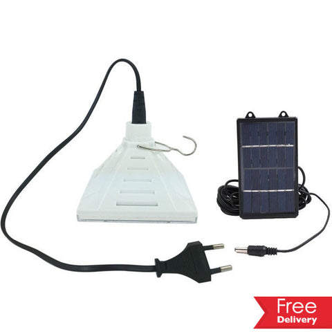 Solar & Rechargeable LED Portable Camping Light For R179.99 Including Shipping