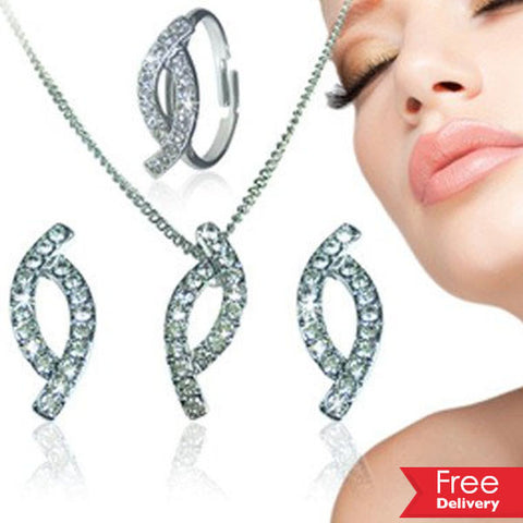 Swarovski Elements Trio Set For R279.99Including Delivery