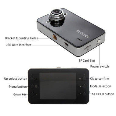 "Full HD 2.4"" 1080P DVR Vehicle blackbox Camcorder for R329.99"