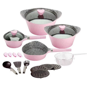 Selection of MGC Non-stick Granite Coating Cookware Sets