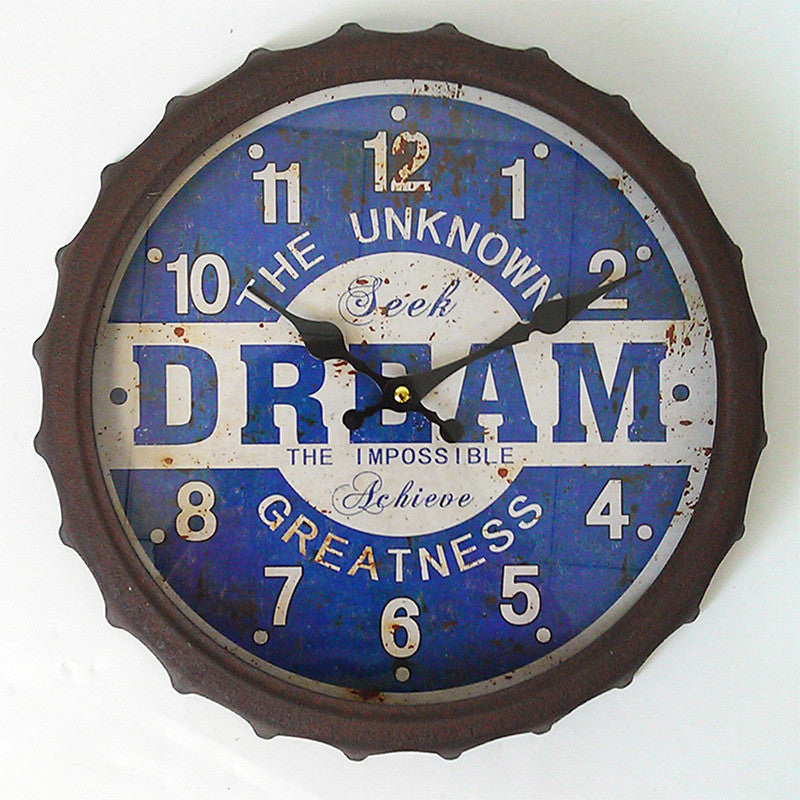 Dream The Impossible Wall Clock φ35