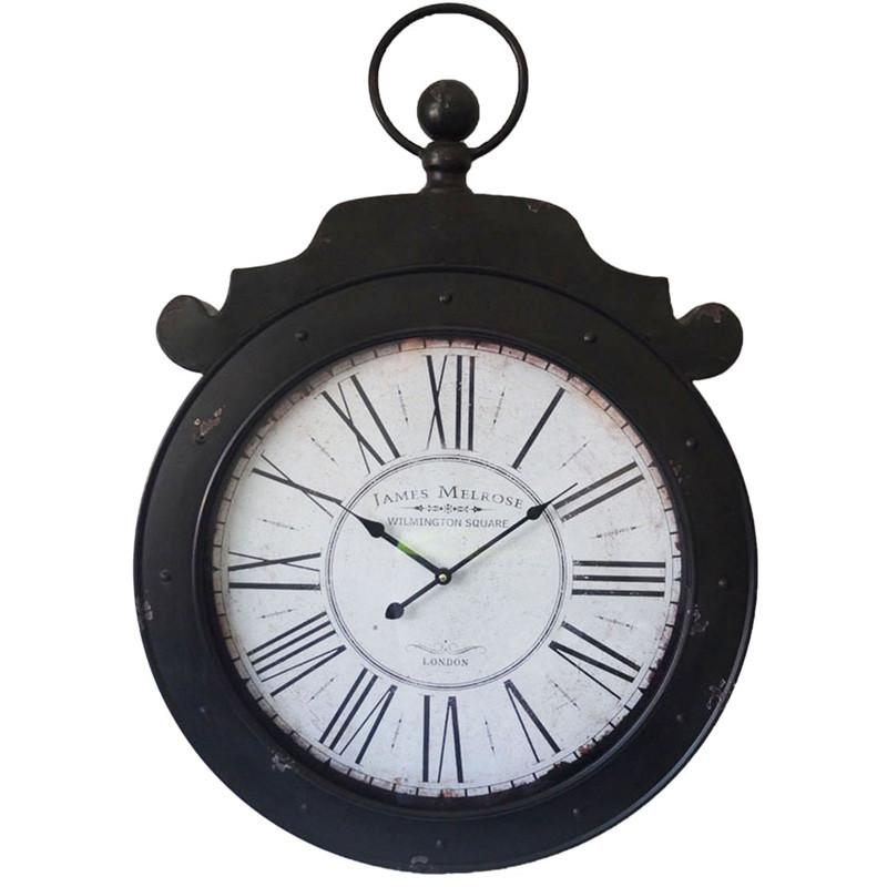 James Melrose Wilmington Square Of London Wall Clock 60Cm X 6Cm X 85Cm