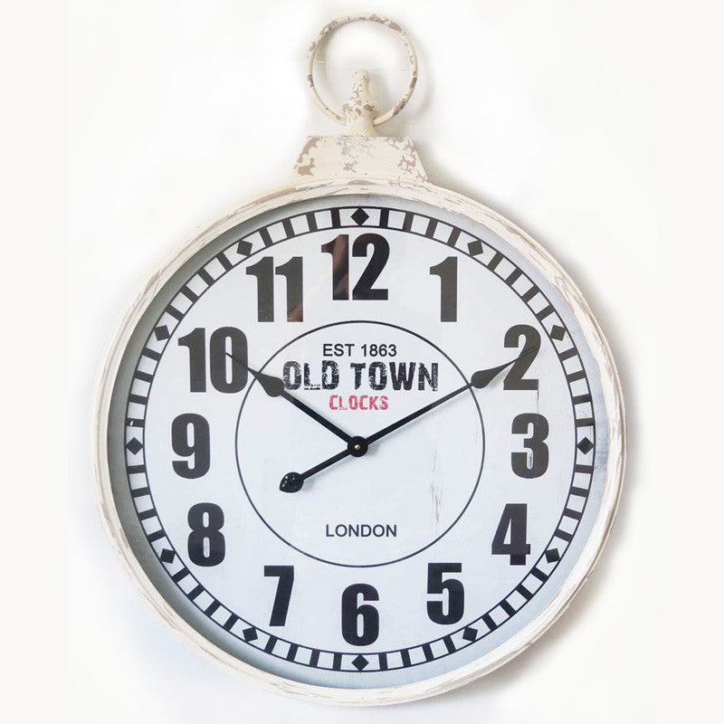 London Old Town Pendant Metal Wall Clock 60CM X 6.5CM X 77.5CM For R654.99
