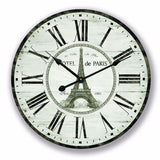 Vintage Hotel de Paris Wooden Wall Clock φ60 For R259.99 Including Delivery
