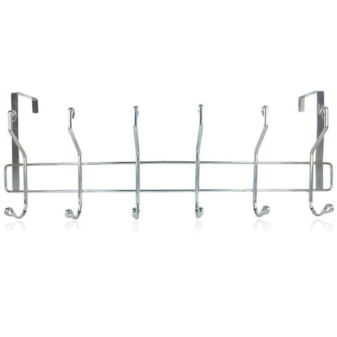 Chrome 12 Hook Over The Door Hanger For R39.99