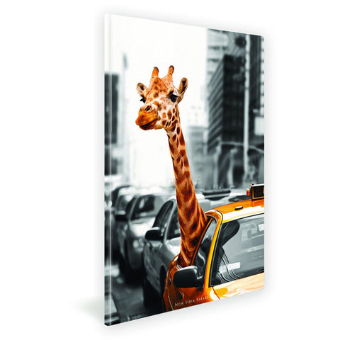 50CM x 70CM New York Safari Canvas Print