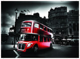 Royal Albert Hall London Bus Canvas Print