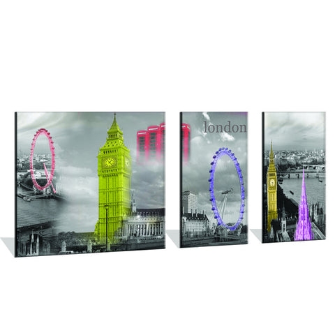 The Famous Big Ben Tower Canvas Print