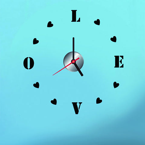 DIY Love Wall Clock