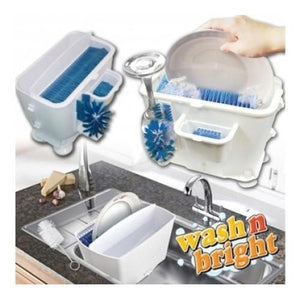 Wash N Bright Portable Easy Dishwasher