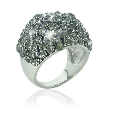 Crystal Pave Dome Ring for R99.99