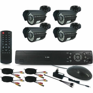 4 Channel HDMI DIY CCTV KIT With  Internet& 3 G Phone Viewing