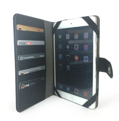 "Two for One : ""7"" or ""9"" Tablet Leatherette Case with Credit Card Holder For R99.99"
