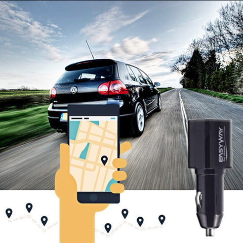 Easyway USB Car Charger with GPS Locator For R359.99