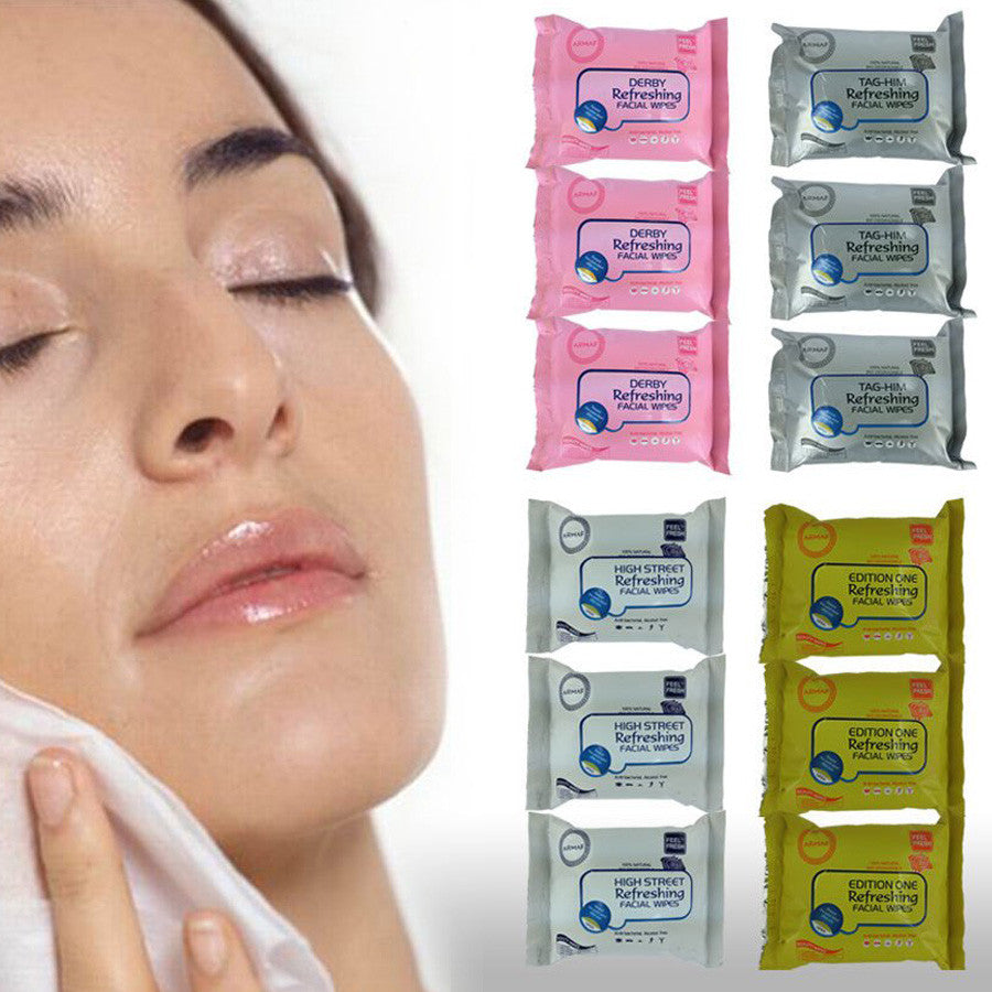12 Packs x  Make Up Removal Facial Wipes