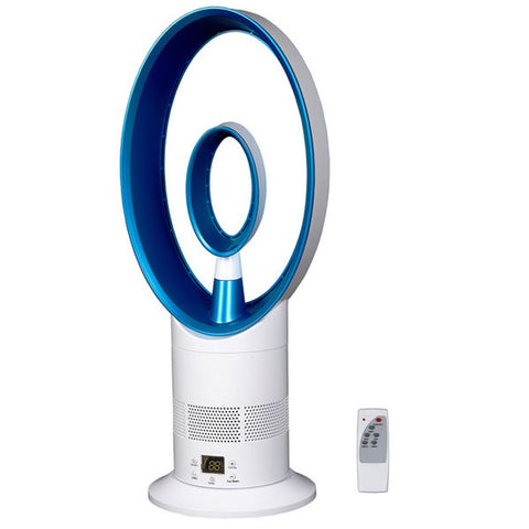 Oscillating Blade-less Fan with Remote Control
