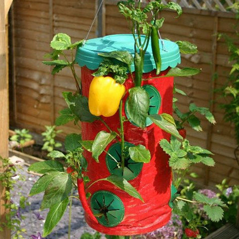 Two 15 Hole Topsy Turvy Upside Down Strawberry Planters For R209.99 Including Delivery