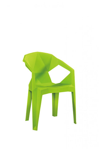 Lime Origami Chair