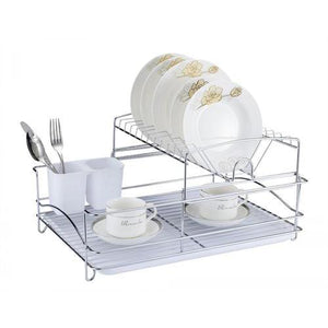 Fine Living Balcony Dishrack - White