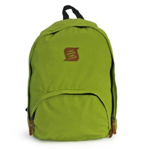 Side Kick - Foldable Backpack - Curved Zip - Lime