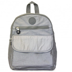 Side Kick Devon Backpack - Silver