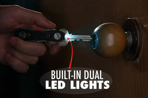 Key Ninja Key-Organizer With Dual LED Lights Including Delivery