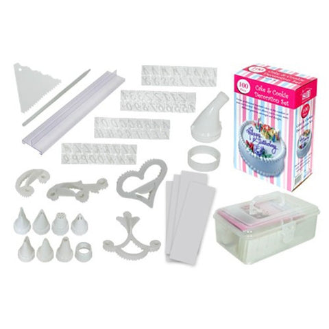 100 Piece Cake & Cookie Decorating Set for R99.99