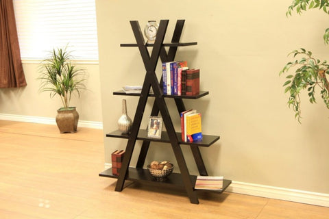 4 Layer Wooden Ladder Shelf/Bookshelf