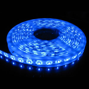 5M Waterproof SMD Led Strip Light Blue - iDealDirect - 1