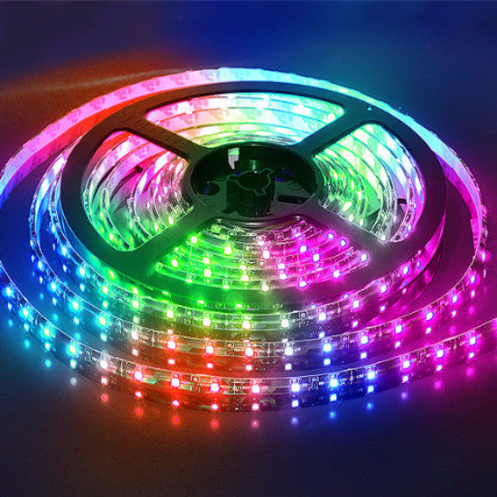 Bright 5M Waterproof SMD Led RGB Flexible Strip Light