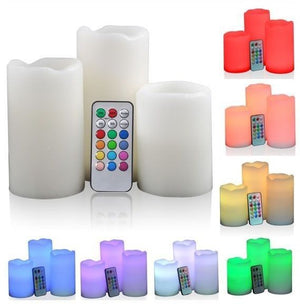 Remote Control Luma Candles