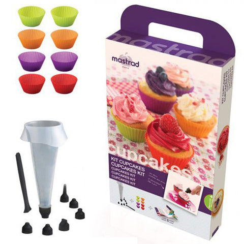 Mastrad  Cupcake Kit & Luxury Macarons Kit For R269.99 Including Delivery