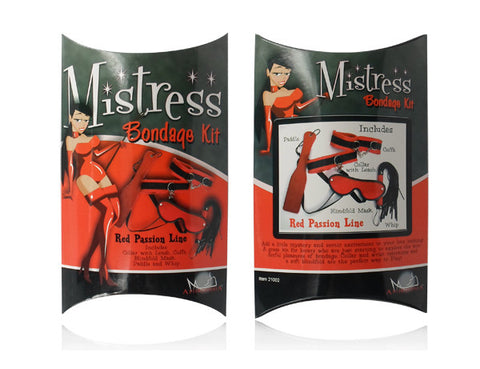 Mistress Bondage Kit - Red Passion Line For R849.99