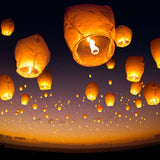 Two for One : Pack of 10 Sky Lanterns For R49.99