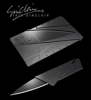 CardSharp Credit Card Folding Safety Knife