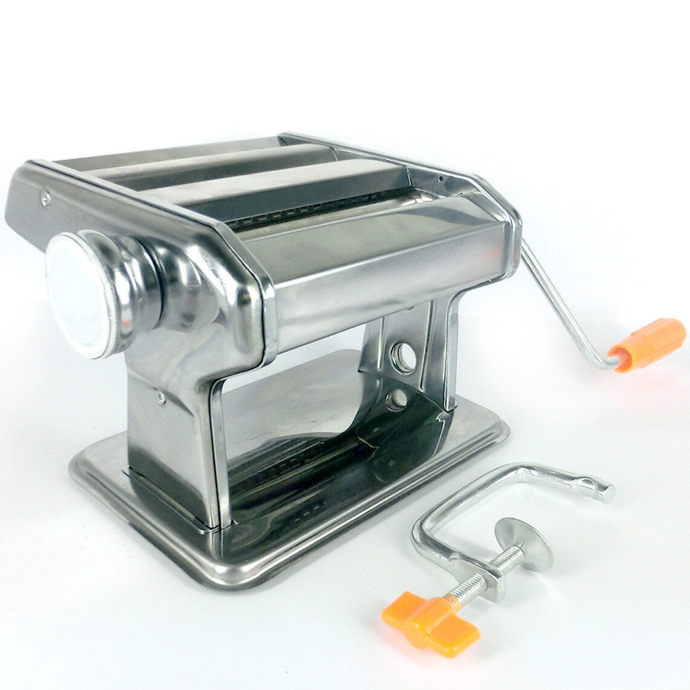Hand operated Stainless Steel Pasta Maker for R199.99.