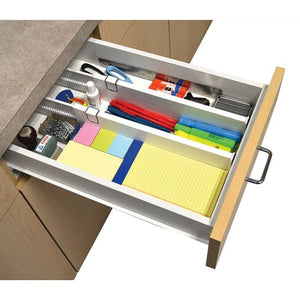 Set of 2 Adjustable Drawer Dividers