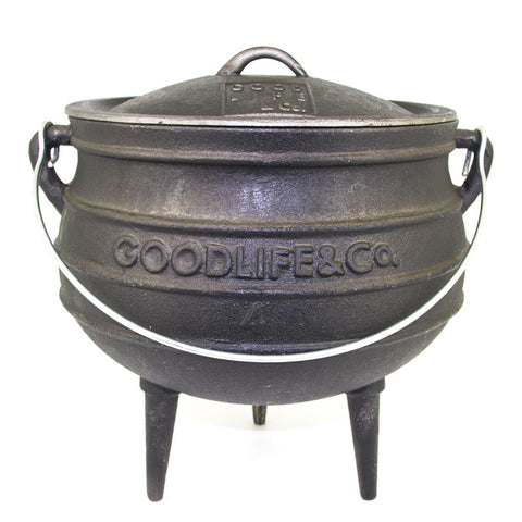Selection Of Waxed Potjie Cast Iron Pots From R429.99