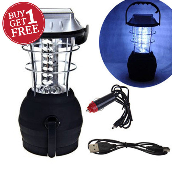 Two for One -  36 LED Solar Lantern For R179.99