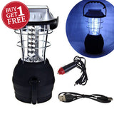 Two for One -  36 LED Solar Lantern - iDealDirect - 1