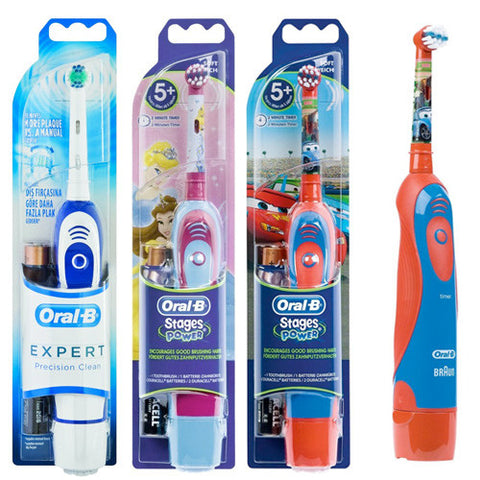 Selection of Kiddies Disney & Adults Oral B Battery Operated Toothbrushes from R159.99
