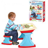 Kids Learning Desk with Easel