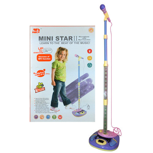 Mini Star Microphone with MP3 Function