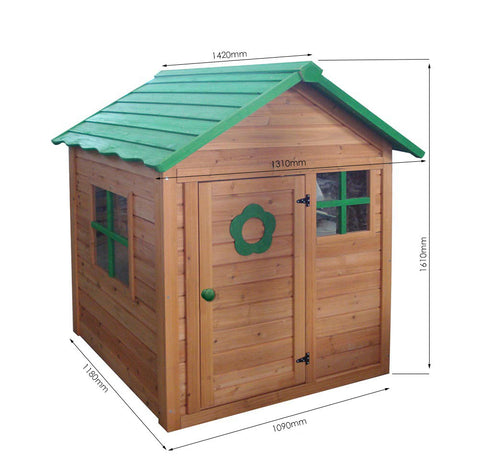 Kids Wooden Playhouse For R2799.99 Including Delivery