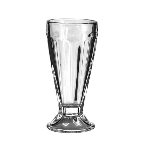 Retro Milkshake Soda Glasses Set of 4