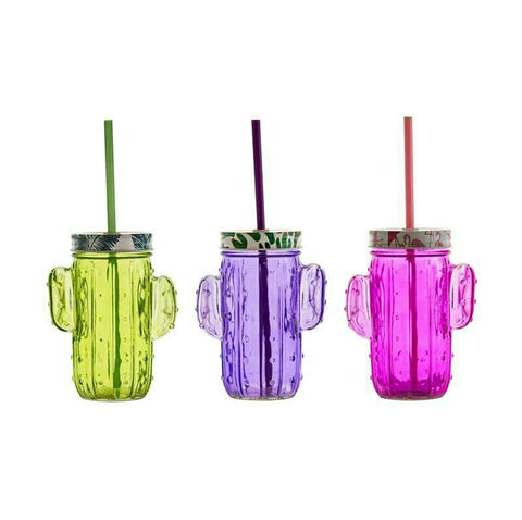 Selection of Regent Mason Jars in Assorted Colours Set of 4